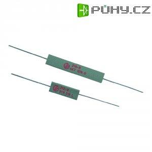 Rezistor VitrOhm KH208-810B15R, 15 Ω, ± 10 %, axiální vývody, 5 W, 10 %