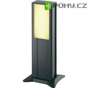 Venkovní sloupové svítidlo IVT Powerline, 45 cm, černá