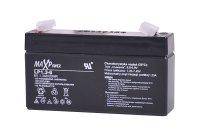 Baterie olověná 6V/ 1,3Ah MaxPower akumulátor