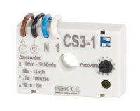 Časový spínač CS3-1 pro ventilátory