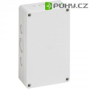 Svorkovnicová skříň polystyrolová EPS Spelsberg PS 1811-6f-m, (d x š x v) 180 x 110 x 63 mm, šedá (PS 1811-6f-m)