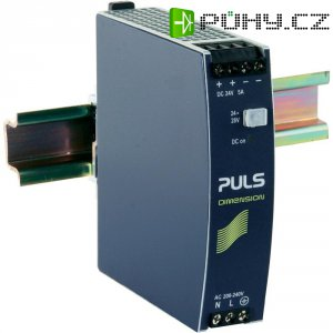 Napájecí zdroj na DIN lištu PULS Dimension CS5.244, 5 A, 24 V/DC