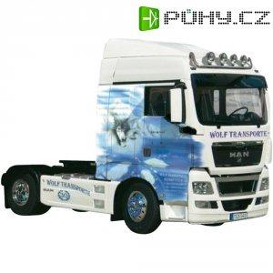 Tahač Carson MAN TGX Truck Wolf Transporte, 1:14, stavebnice (300156329)