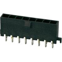 Konektor TE Connectivity Micro-Mate-N-Lok (2-1445050-8), kolíková lišta přímá, 250 V, 3 mm