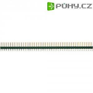 Kolíková lišta TE Connectivity 5-826629-0, rovná, 1x 50 pin, 127 x 12,7 mm, pozlacená