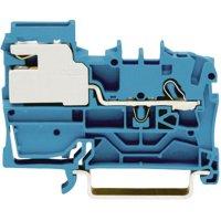 Oddělovací svorka Wago 2002-7114, pružinová, 5,2 mm, modrá