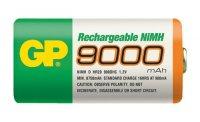 Baterie D (R20) nabíjecí GP NiMH 9000mAh