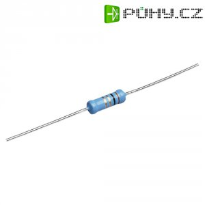 Metalizovaný rezistor, 4,7 Ω , 1 %, 0414, axiální vývody, 1 W