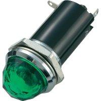 Signálka SCI, 24 V/DC, 16,2 mm, zelená