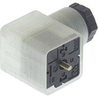 Napájecí prům. konektor se signalizací Hirschmann GDML 2011 LED 24 HH (932 336-002)