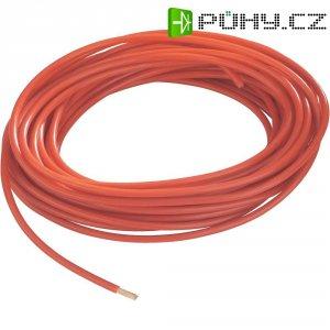 Kabel pro automotive AIV FLRY, 1 x 4 mm², červený, 10 m