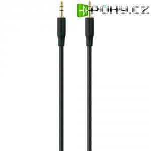 Připojovací kabel Belkin jack zástr. 3.5 mm/jack zástr. 3.5 mm, 1 m, pozl. kontakty