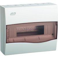 1řadá rozvodnice na omítku IDE 25052, 12 modulů, IP40