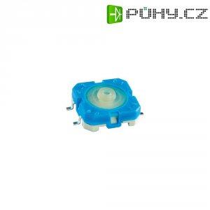 SMD tlačítko Rafi, 114001503, 42 V DC/AC, 0,1 A, vyp./(zap.), modrá