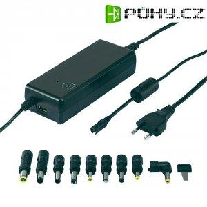 Síťový adaptér pro notebooky Voltcraft NPS-90 USB, 12 - 22 VDC, 90 W