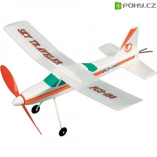 Model letadla na gumičku Reely Sky Traveler - Kliknutím na obrázek zavřete