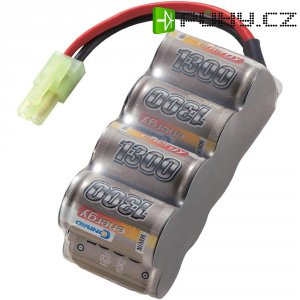 Akupack NiMH (modelářství) 9.6 V 1300 mAh Conrad energy blok zásuvka mini Tamiya