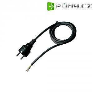 Síťový kabel Goobay 6726, zástrčka/otevřený konec, 0,75 mm², 1,5 m, černá