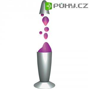 Lávová lampa, 71.763, 20 W, 340 mm, fialová