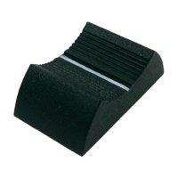 Knoflík na posuvný potenciometr Cliff CP3350, CS9, 6-8 mm, zelená