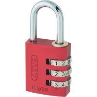 Visací zámek na heslo ABUS ABVS46615, 31.5 mm, hliník