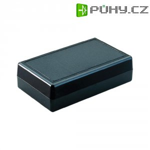 Plastové pouzdro Strapubox, (d x š x v) 101 x 60 x 26 mm, černá