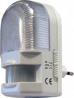 Noční světlo s PIR čidlem do zásuvky 230V/7W