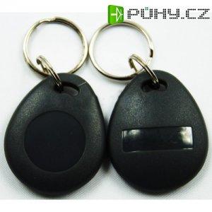 Bezkontaktní RFID čip se zvýšenou odolností, EM 125 kHz pro RFID čtečky, přístupové, kódové a biometrické systémy - černá barva