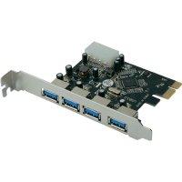 PCI karta ⇒ 4x port USB 3.0, Digitus
