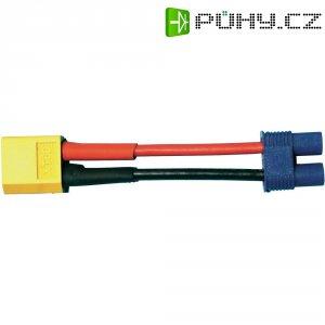 Redukce Modelcraft XT-60 zástrčka / EC3 zásuvka, 700 mm, 2,5 mm²