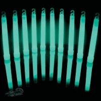 Neonová světelná tyčinka, 15 cm, tyrkysová