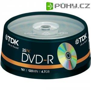 TDK DVD-R 4,7GB 16X 25 ks cake box