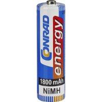 Akumulátor Conrad energy, NiMH , AA, 1800 mAh