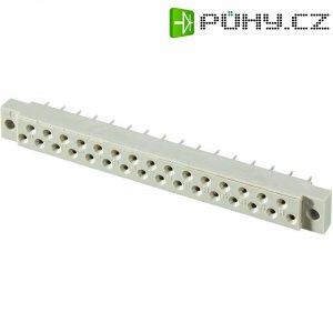Pinová lišta Conec, 102E10089X, DIN 41617, 31pólová, postříbřená