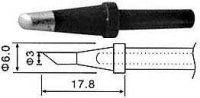 Hrot N4-3 3mm pro servisní stanice ZD912,ZD916,ZD917