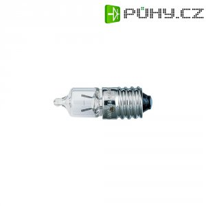 Miniaturní halogenová žárovka Barthelme, E10, 5,2 V, 4,42 W, 0,85 A, čirá