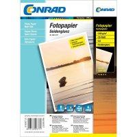 Conrad fotopapír A4,190 g, 25listu