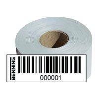 Štítky s čárovými kódy Benning pro ST750, Nr. 1001 - 2000