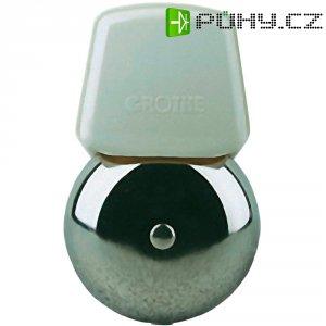 Malý zvonek Grothe LTW 1101A, 24075, 8 V/AC, 84 dBA, stříbrná/šedá