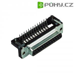 D-SUB kolíková lišta Harting 09 66 262 6811, 15 pin, úhlová