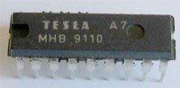MHB9110 - obvod pro impulsní telefonní volbu, DIL18