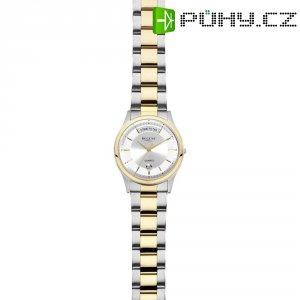 Ručičkové náramkové hodinky Regent F-645 Quartz, pánské, pásek z nerezové oceli