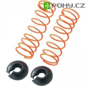 Pružina tlumiče Reely Medium, 50,5 x 1,2 mm, oranžová, 1:10, 2 ks (CB1383R)