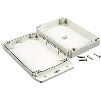 Univerzální pouzdro ABS Hammond Electronics 1555CF22GY, 120 x 66 x 42 , světle šedá