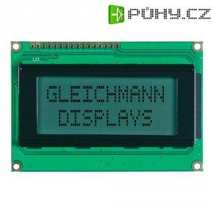 LCD displej Gleichmann, GE-C1604A-TFH-JT/R, 13,6 mm, bílá/černá