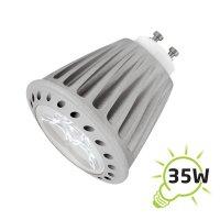 Žárovka LED GU10/230V 4W bílá studená