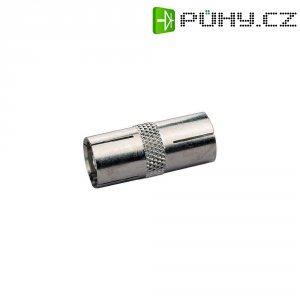 Spojka BKL Electronic, 0410313, anténní zásuvka ⇔ anténní zásuvka, 75 Ω