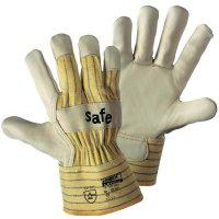 Pracovní rukavice z hovězí kůže, velikost 10