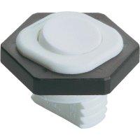 Kolébkový spínač interBär 8014-002.01, 1x vyp/zap, 250 V/AC, 6 A, bílá