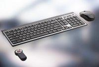 Bezdrátová klávesnice pro TelyLabs telyHD BASE, černá